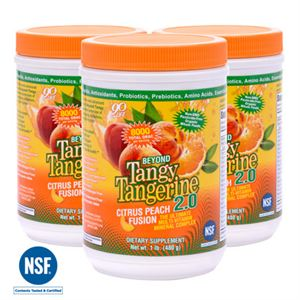 Picture of BTT 2.0 Citrus Peach Fusion 480 g canister (3 Pack)
